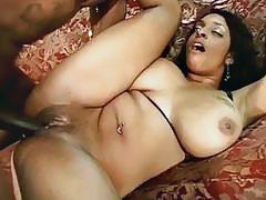 Big breasted ebony bitch pumped by hard black shaft